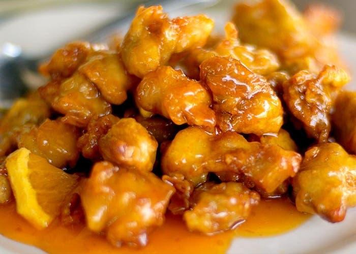 Pollo asado con salsa de c tricos receta paso a paso - Salsa para pollos asados ...