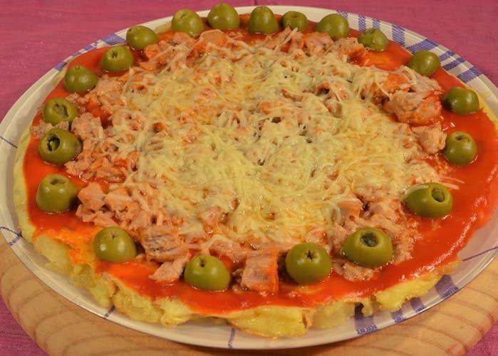 Pizza de patatas