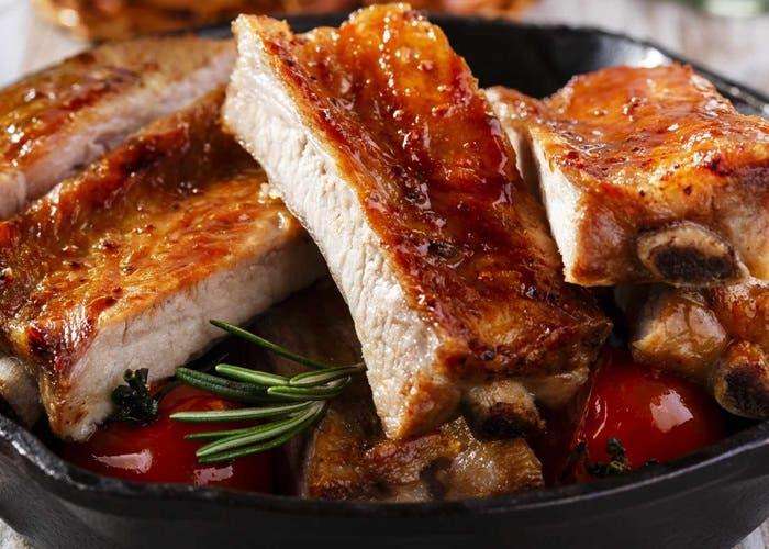 carne de cerdo al horno