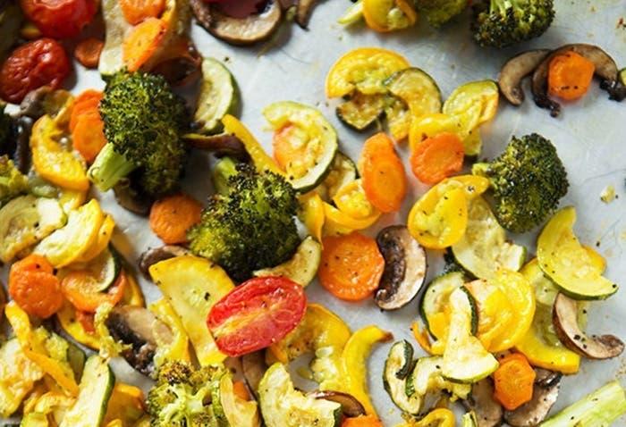 Verduras asadas