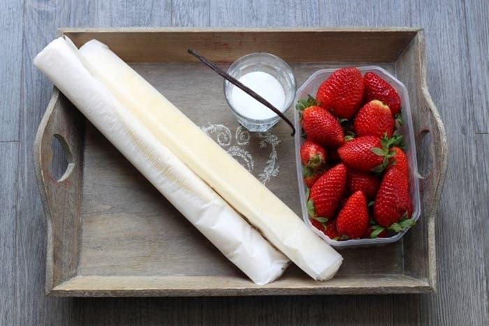 Receta de tarta de fresas, ideal para sorprender a tu pareja