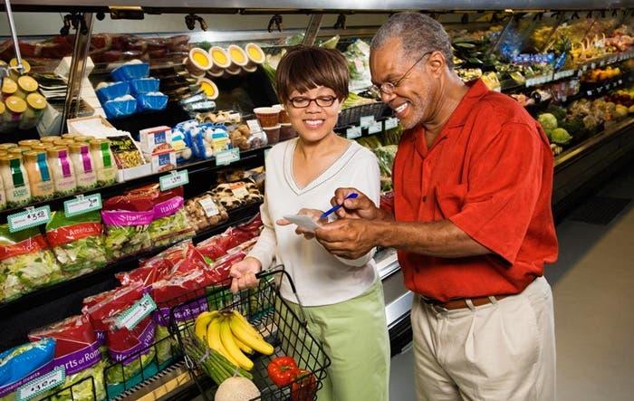 Mirar lista de supermercado