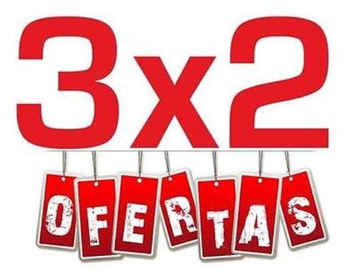 Ofertas 3x2