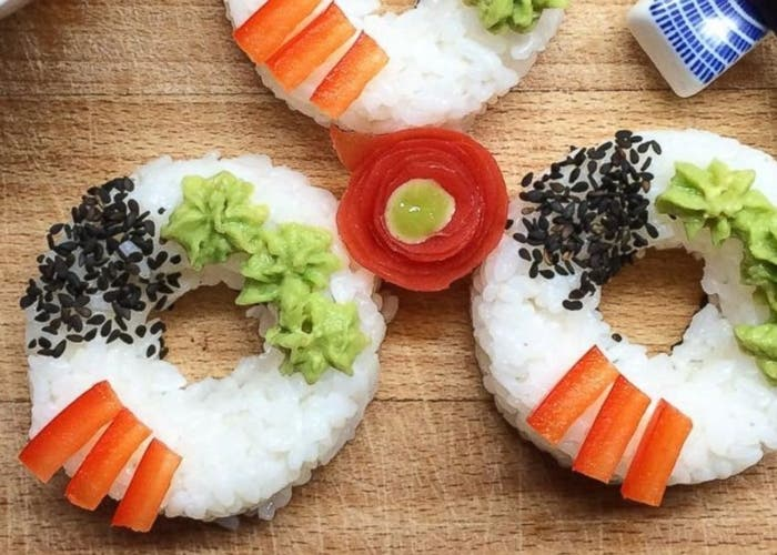 Sushi donas