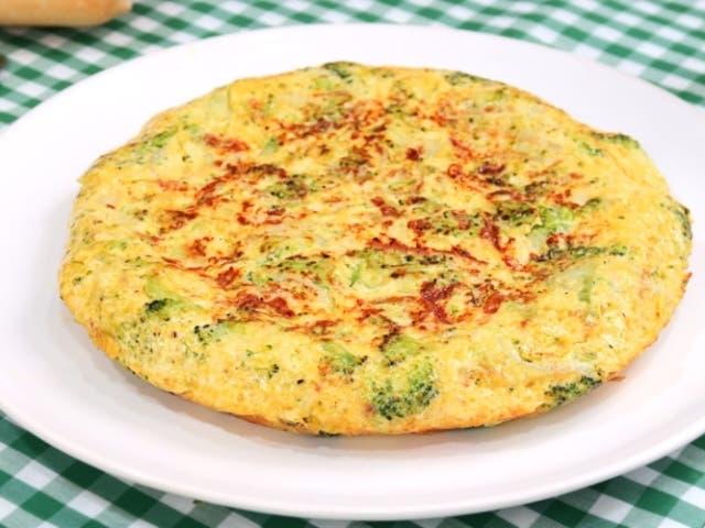 Tortilla de br coli receta paso a paso for Maneras de cocinar brocoli