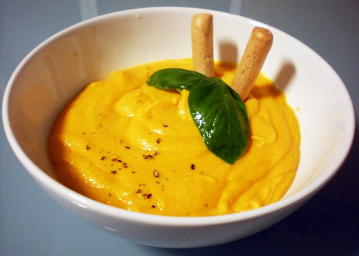 mayonesa casera de zanahorias