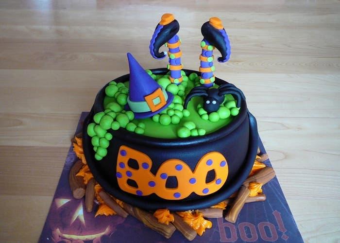 Ideas de pasteles para Halloween