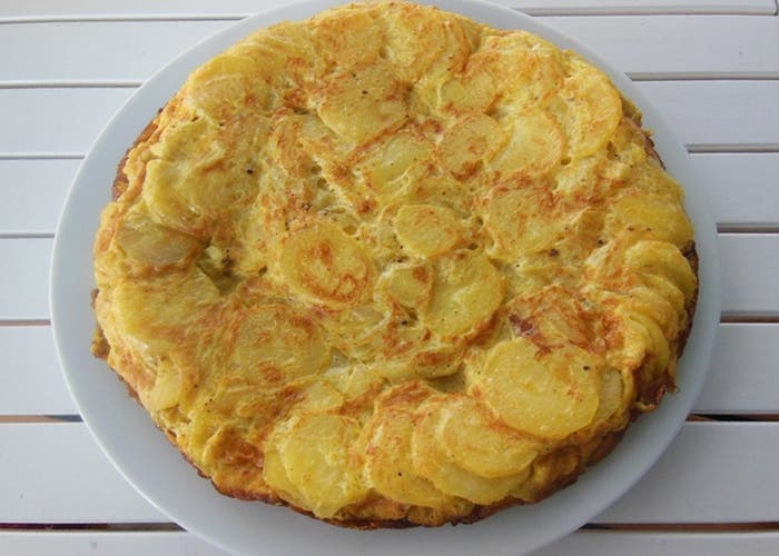Auténtica receta de tortilla de patatas española