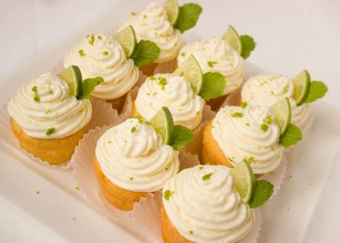 Cupcakes de caipirinha