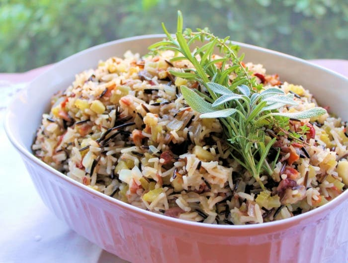 rice-stuffing-with-apples-herbs-and-bacon-05