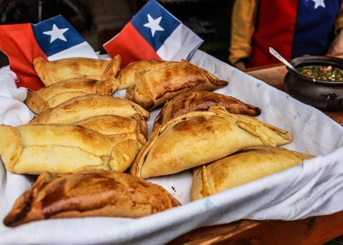 empanadas chilenas de carne