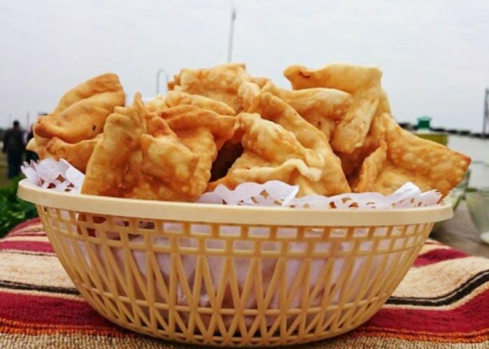 Empanadas fritas alemanas