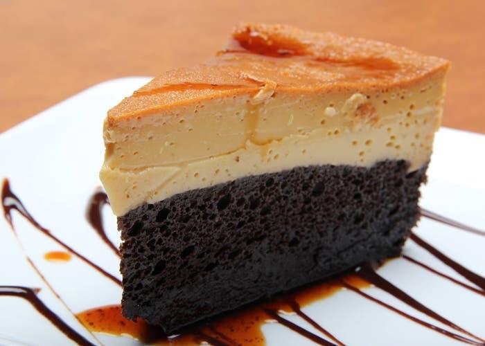 pastel imposible sin horno