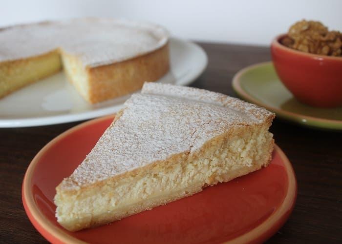 Torta de ricota y nueces