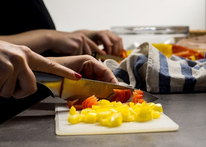 Tipos de cortes de verduras