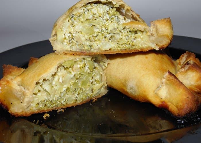 Empanadillas de ricota y brócoli