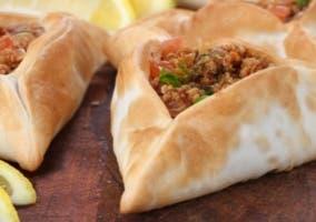 Empanadillas árabes de carne y verdura