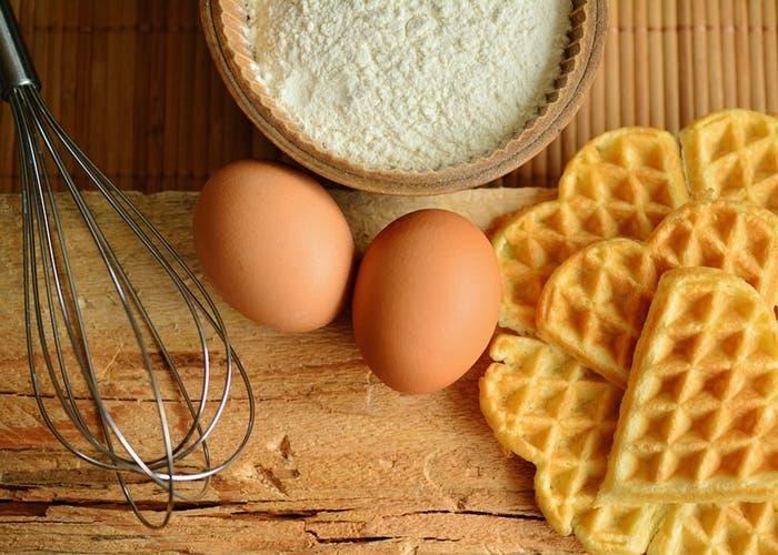 Waffles ingredientes