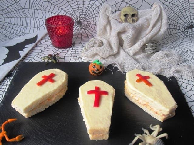 S Ndwiches Para Halloween Receta Paso A Paso