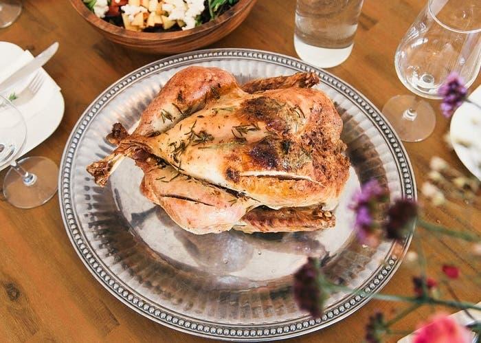 Pollo al horno con romero, receta paso a paso