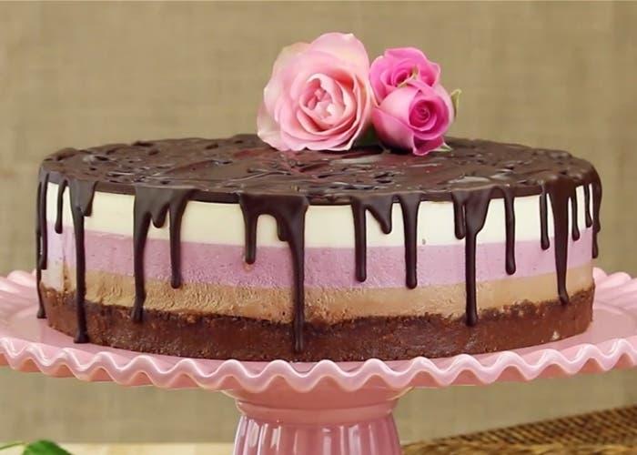 Torta de fresas y Nutella