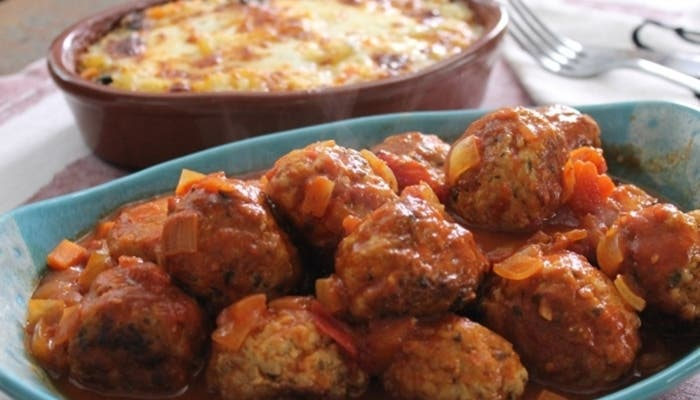 Albóndigas de cerdo en salsa