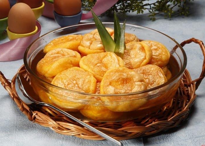 Papos de anjo, una receta típica de la cocina portuguesa