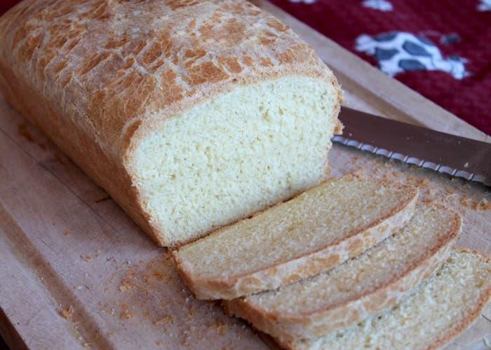 Receta de pan sin tacc para todos los días