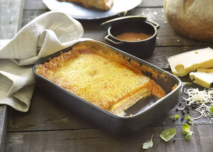 Pastel de jamón y queso, receta paso a paso