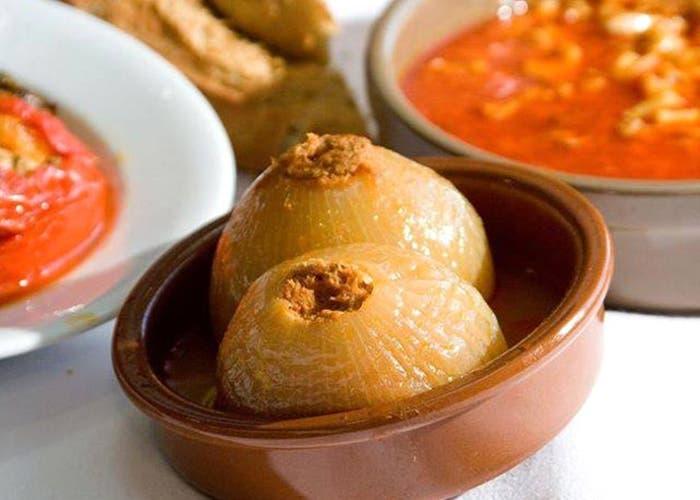 Receta de cebolla rellena con carne de res