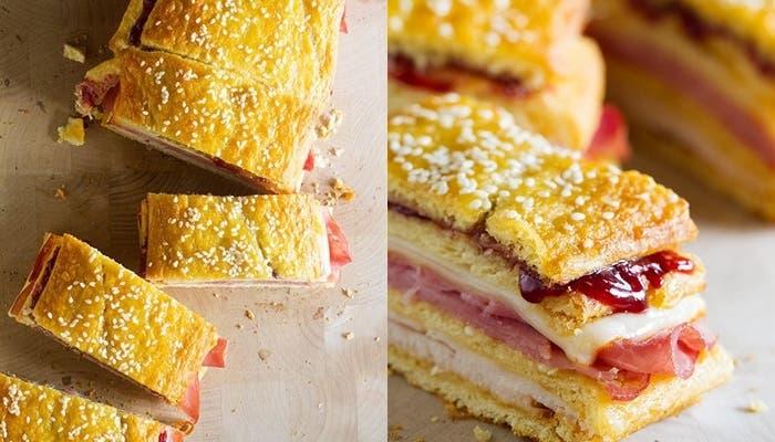 Receta de sándwich Monte Cristo