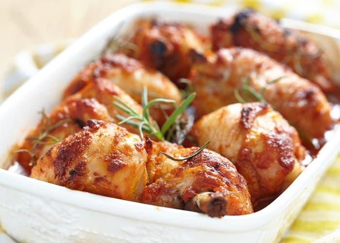 Receta de jamoncitos de pollo al horno