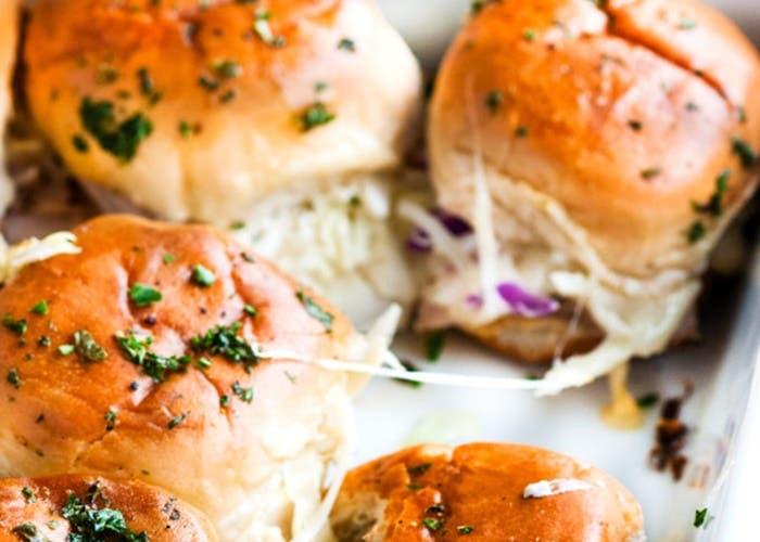 Receta de panecillos con pavo y queso