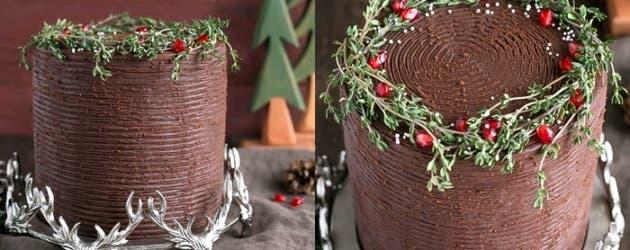 Receta de pastel de jengibre con chocolate