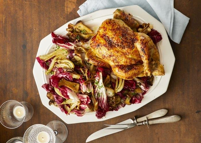 Receta del mejor pollo asado con jengibre y naranja