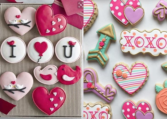 Receta De Galletas Decoradas Con Royal Icing Para San Valentín