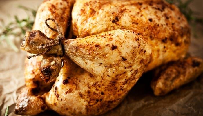 Pollo asado persa