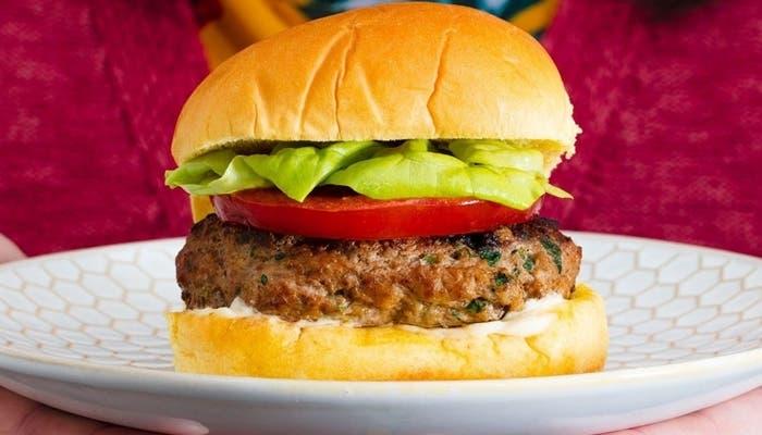 hamburguesa de pavo