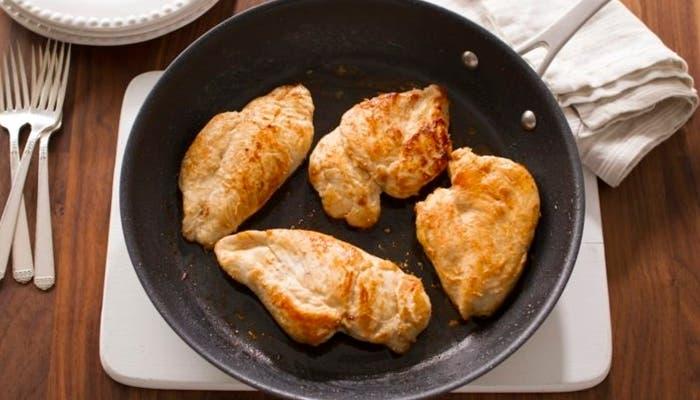 supremas de pollo a la sartén