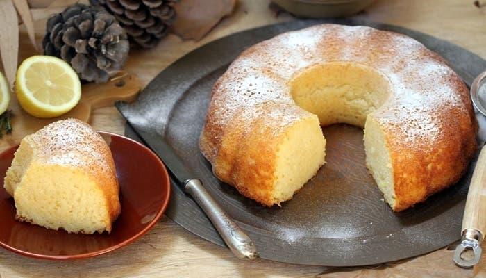bundt cake de limón y aceite de oliva