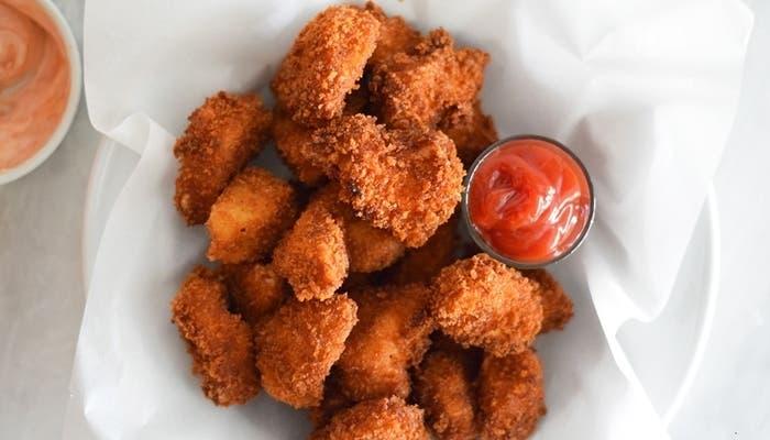 receta de nuggets de pollo caseros