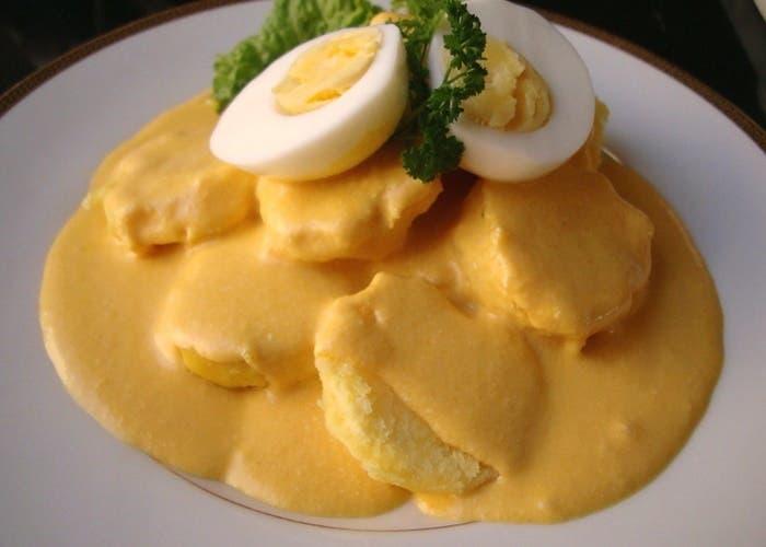 Patatas a la huancaina