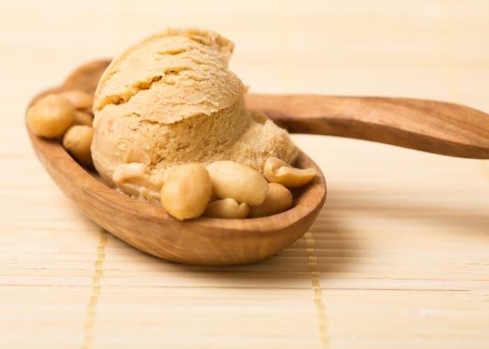 Receta de helado de mantequilla de mani