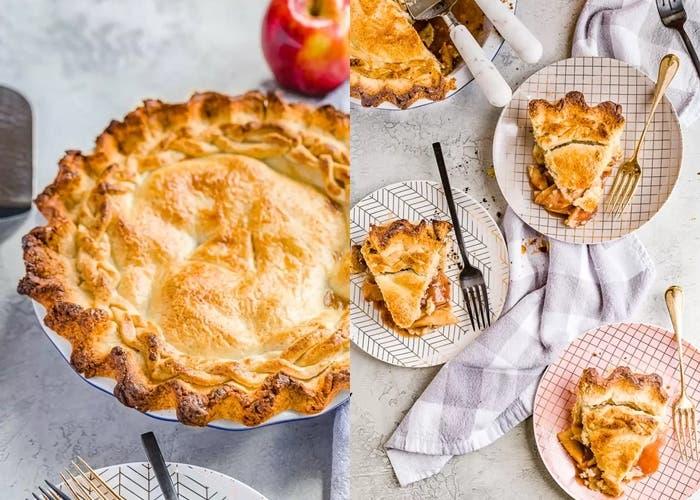 Tarta de manzana casera y fácil