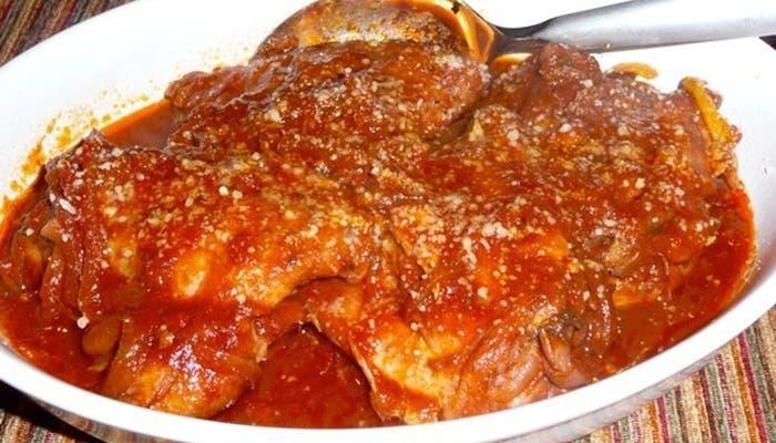 Receta de estofado de pollo con especias