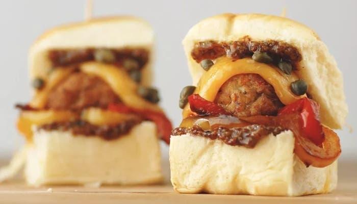Sándwiches de albóndigas italianas