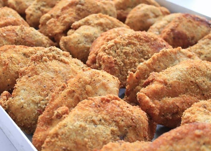 Pollo frito al estilo indio, receta paso a paso