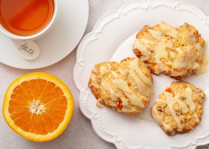 receta de galletas de zanahoria y glaseado de naranja