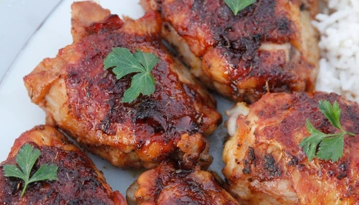 pollo al ron