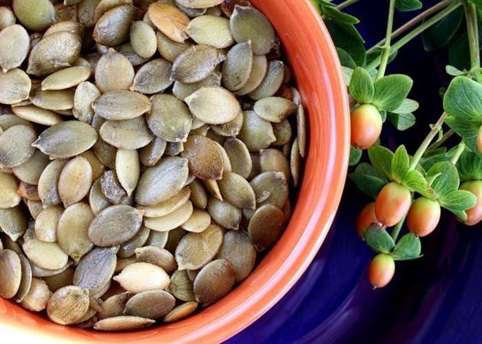 pesto de semillas de calabaza